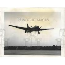 1949 Press Photo Martin P4M-1 Mercator Shown Taking Off on Initial Flight