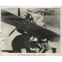 1939 Press Photo Bomb is Loaded on One of the Italian Planes with Rebel Forces
