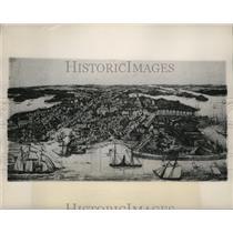 1949 Press Photo Annapolis, Maryland in 1857 - mja52194