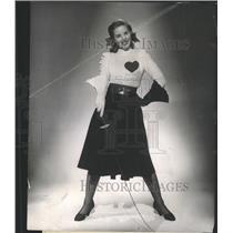 1950 Press Photo Collen Townsend Valentine Century Fox - RRY46979
