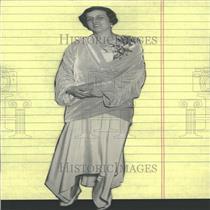 1929 Press Photo Mrs. Edward Knowles - RRY27153