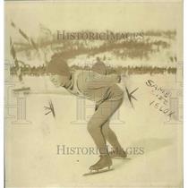1926 Press Photo Joe Moore, Skiier - nef64236