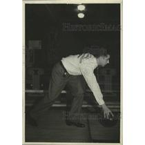 1935 Press Photo Bowler Joe Bodis - nef64232