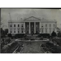 1900 Press Photo The Exterior of the North Side of the White House - mja53352