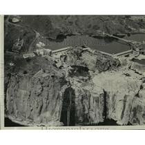 1930 Press Photo American Falls Dam - spa40070