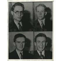 1934 Press Photo University of California Students Suspended  Communist Activity