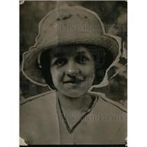 1919 Press Photo Emily Gump mission girl from Cinncinati Ohio - neo01312