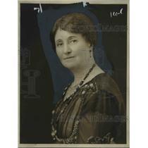 1921 Press Photo Mrs Ralph Smith British Columbia Parliament Speaker - nep02743