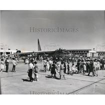 1966 Press Photo B52 Bomber at Fairchild Air Force Open House - spa42136