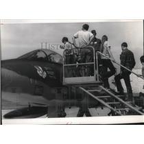1972 Press Photo Fairchild Air Force Open House - spa42134