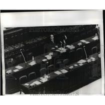 1970 Press Photo Italian Premier Emilio Colombo in Chamber of Deputies