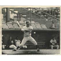 1971 Press Photo Tim Foli  of the Mets at spring training batting practice