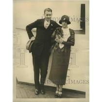 1924 Press Photo Vincent Richards won the Olympic Men's Singles Title