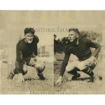1926 Press Photo Brothers to battle on gridiron in Army-Navy Tilt - sbs01128