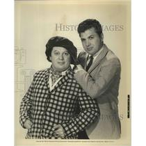 1965 Press Photo Two actors in an film from Paramount Pictures - lfx04996