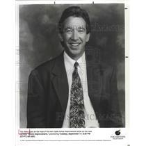 "1991 Press Photo Tim Allen, star of ABC-TV's ""Home Improvement"" - lfx05097"