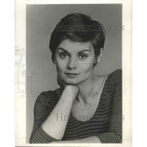 1982 Press Photo Linda Arkin hosts Alive and Well, on USA. - nox03952