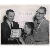 1966 Press Photo Rev. Jack Hart, Alan Reid and James Mecready - cvb14913