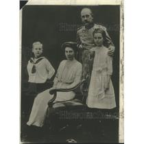 1918 Press Photo Prince Max of Baden-Democratic Prince of Germany and Family