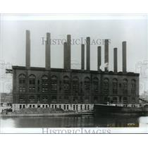 1915 Press Photo The Commerce Power Plant of Wisconsin Electric - mjx24670