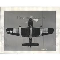 1949 Press Photo Martin AM-1 Hauler Carrying 9000 Lbs 3 Torpedoes & 12 Rockets