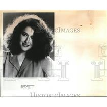 1981 Press Photo Melissa Manchester - ora56257