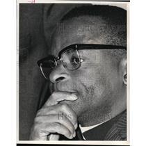 1972 Press Photo Abel T. Muzorewa of the United Methodist Church. - ora59431