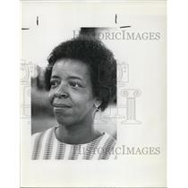 1970 Press Photo Mrs. Walter Morris believes black men need liberation first