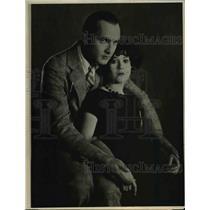 1925 Press Photo Goorge O'Hara Alberta Vaugh Engagement - ora88942