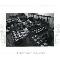 1981 Press Photo Lewis & Clark College's percussion orchestra Fenwick Gamelan