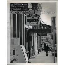 1978 Press Photo Oakland's market-museum-restaurant stands on Locust Street