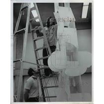 1973 Press Photo Portland State University-student show - orb45678