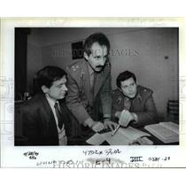 1990 Press Photo Alexandre Shestak, Natan Zablotskis & Alexander Safronov