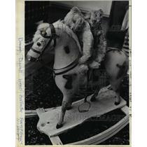 1983 Press Photo Deanna Duvall bear collector Forest Grove   - orb53167