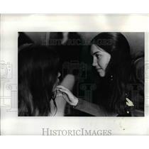 1972 Press Photo Actress Collette Purtle Portland Junior Civic Theater