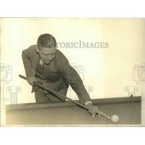 1932 Press Photo Welker Cochran, 1932 Western Sectional Three cushion WInner