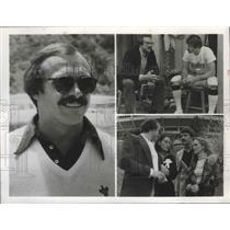 "1980 Press Photo Football player Rocky Bleier featured in ""Fighting Back"" movie"