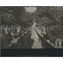 1916 Press Photo AMSTERDAM STREET NETHERLANDS - RRY50309