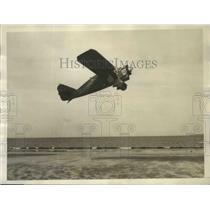 1929 Press Photo U.S. Trans-Atlantic Plane Taking Off in Test Flight - sbs01763