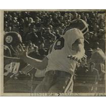 1968 Press Photo New Orleans Saints - Danny Abramowicz Misses Touchdown