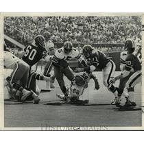 1972 Press Photo New Orleans Saints- Saints vs Falcons - nos00382
