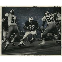 1972 Press Photo New Orleans Saints- Buffalo's O.J. Simpson on the move.