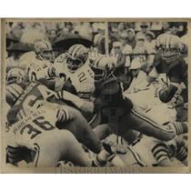 1971 Press Photo New Orleans Saints- Saints action shot. - nos00714