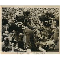 1971 Press Photo New Orleans Saints- Saints action shot. - nos00718