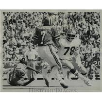 1974 Press Photo New Orleans Saints-Billy Newsome #78 Saints. - nos00721