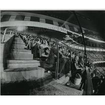 1975 Press Photo New Orleans Saints- Fans in the upper decks. - nos00796