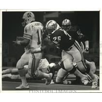 1984 Press Photo Saints and Buccaneers Football Game - noa00963