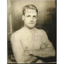 1924 Press Photo Ben Funk, Yale University 160 pounds champion - net32048