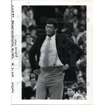 1989 Press Photo Wes Unseld - orc02292