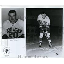 Press Photo Barry Watson- Vancouver Canucks - orc09351